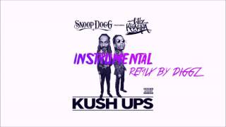 Snoop Dogg feat Wiz Khalifa - Kush Ups (Instrumental)(Remix Diggz)