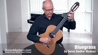 Bluegrass (Soren Madsen) - Danish Guitar Performance - Soren Madsen