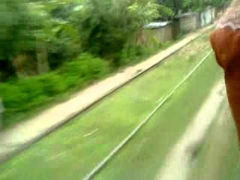 Bangladesh Railway Goalondo ghat Poradah jn Shutle Train Running Place video near Kalukhali Ex jn Part 2