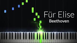 Fur Elise - Ludwig van Beethoven [Piano Tutorial] (Synthesia)