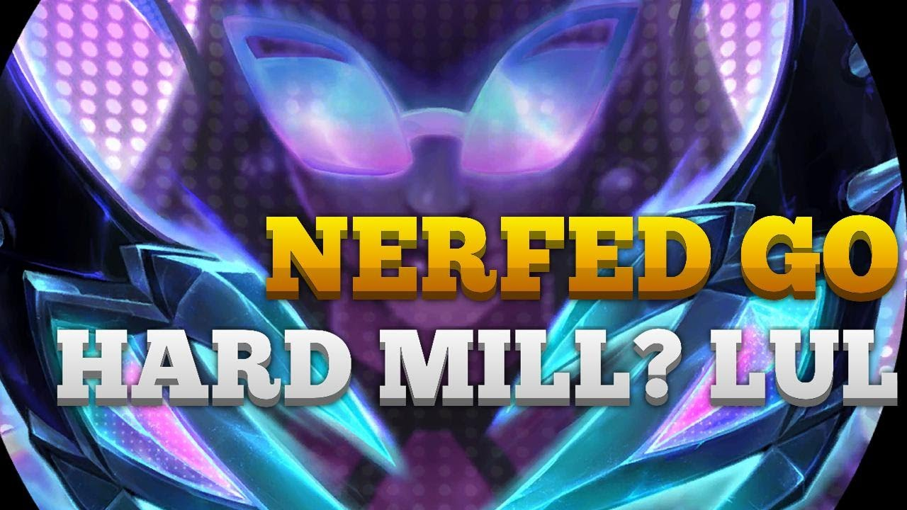 AlanzqTFT - NERFED Go Hard Mill? LUL | Patch 2.0.0 | Legends of Runeterra | Ranked LoR