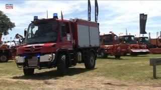 Onlinemotor Mercedes Unimog U218 Feuerwehr Tanklöschfahrzeug Demopark 2017