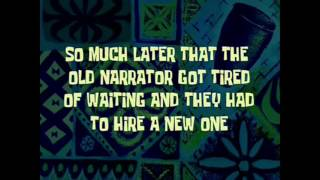 """SpongeBob all time cards part 9 """"So much later that the old narrator got tired of waiting and they-"""
