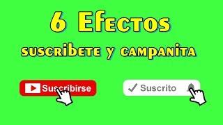 Green Screen Suscribete y Campanita - Pantalla Verde Suscribete y Campanita | Tips de Redes Sociales