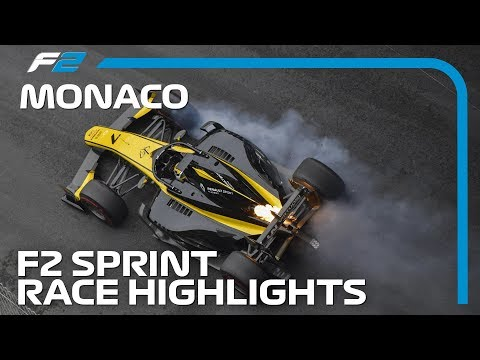 Formula 2 Sprint Race Highlights | 2019 Monaco Grand Prix