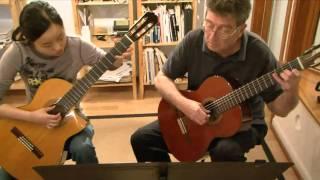 La Sinda _ arr Eythor Thorlaksson Beg Duets V2_ Zhao Yuting & Joseph