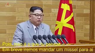 """Bruno de Carvalho advertido por """" Kim Jong Un """" PARÓDIA"""