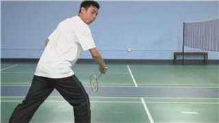Badminton : How to Backhand Swing in Badminton