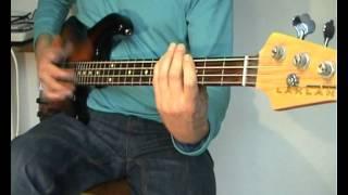 Joe Cocker - Unchain My Heart - Bass Cover