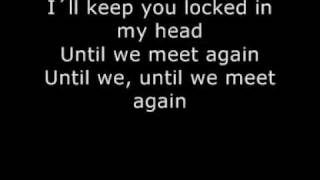 PINK LYRICS for Who Knew (onscreen text)