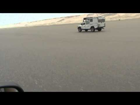 Morocco Overland 2010 plage Blanche
