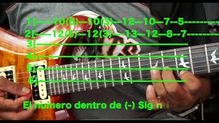 He sentido amor -los Kiero- tabs para guitarra
