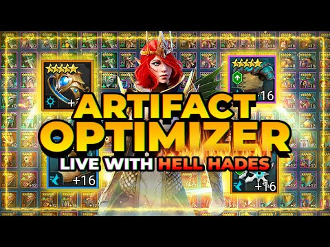 NEW Artifact Optimizer! ft HellHades! | RAID Shadow Legends