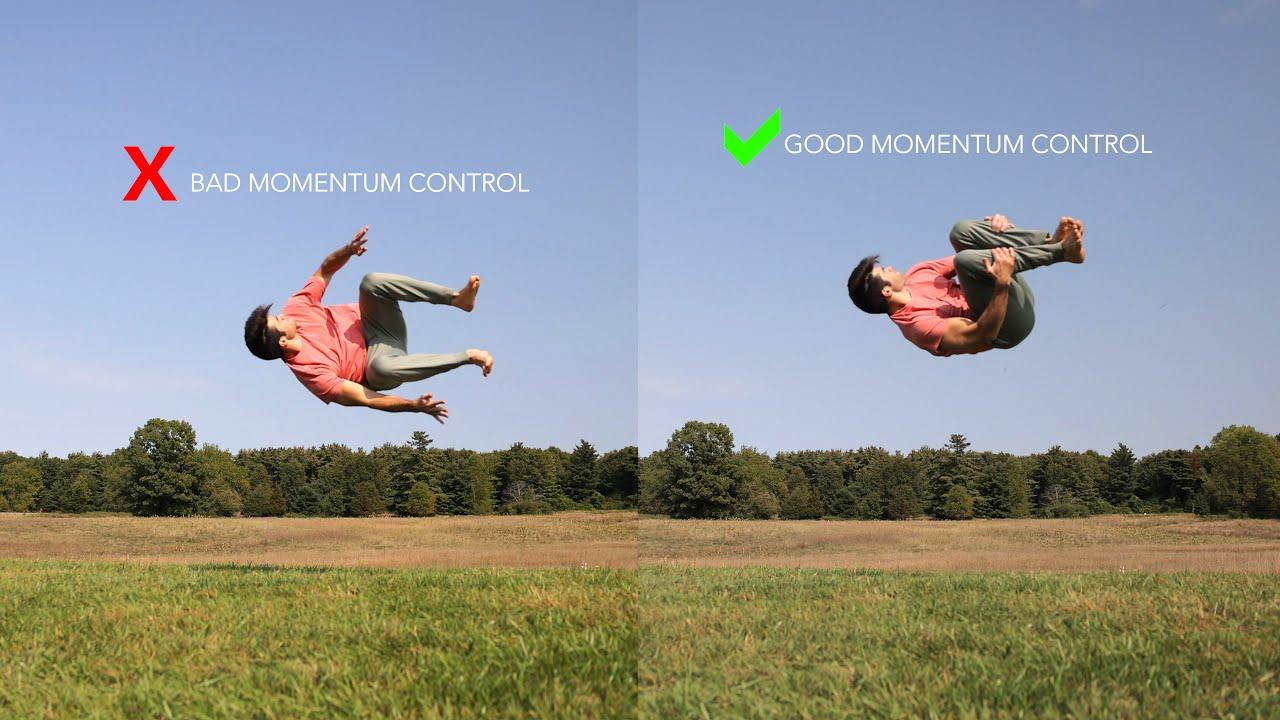 The Secret to Learning Flips, Breakdance, Gymnastics – Good Momentum Control
