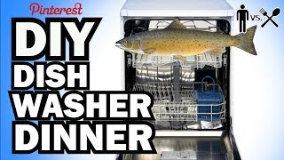 DIY DISHWASHER DINNER - Man Vs Din #2 width=