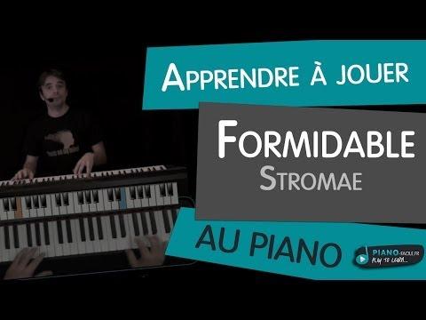 Comment jouer Formidable de Stromae au piano - 2eme version