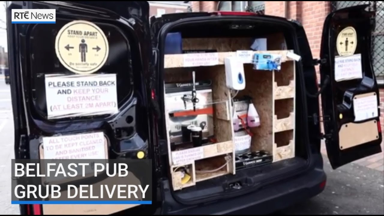 Belfast Bar makes waves with Home Delivery System