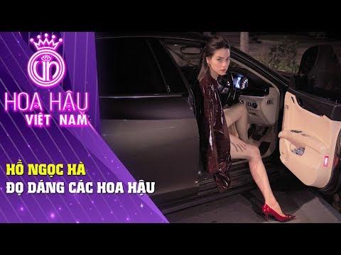 Hoa hậu Việt Nam | Bay Theo Ngân Hà Hồ Ngọc Hà đọ dáng các Hoa hậu