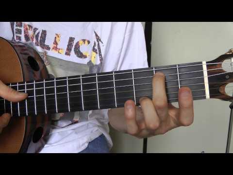 Comment jouer La Madrague de Brigitte Bardot à la guitare partie 1