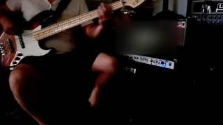 This ain't a love song bon jovi  -  bass cover