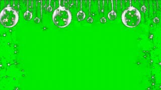 Green Screen Effect Christmas toy | Snowflakes | Snow