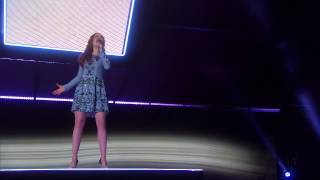 Daniella Mass  Colombian Singer Wows with  Bring Him Home  Cover   America's Got Talent 2015