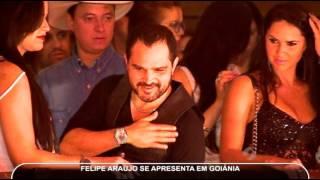 Show de Felipe Araújo, irmão de Cristiano Araújo