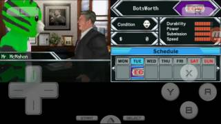 BotsWorth Plays: Smackdown vs Raw 2010 For The Nintendo DS/Part 1