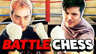 REAL LIFE CHESS BOXING! (Cell Outs)