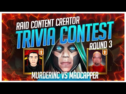RAID | Trivia Contest | FINAL4 | MurderInc vs MadCapper!