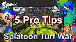 5 Pro Tips for Splatoon Turf War (Guide, Online Squid Tips, Wii U Multiplayer)