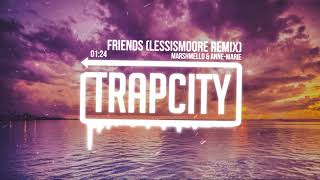 Marshmello & Anne-Marie - Friends (lessismoore Remix) [Lyrics]