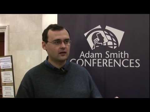 Andrew Blinov speaking at the Ukrainian Banking Forum 2009