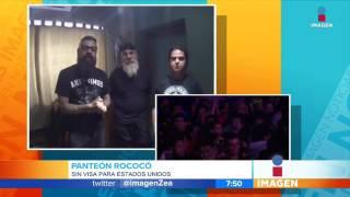 Panteón Rococó no podrá presentarse en California