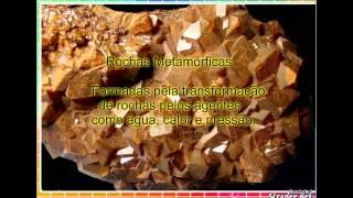 As Rochas e os Minerais da Litosfera
