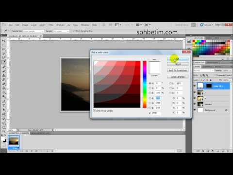 Photoshop Örnek 6 - Hareketli Gif Animasyon
