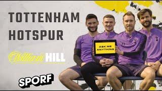 ASK ME ANYTHING: Eriksen, Lloris, Trippier & Llorente   William Hill Football