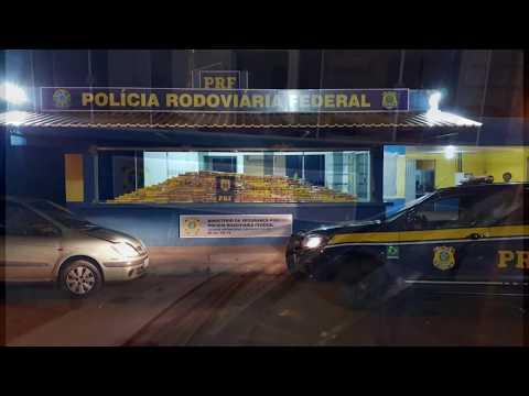 Polícia Rodoviária Federal apreende 181 kg de maconha no posto da PRF em Lindoeste - Cidade Portal