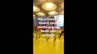 Irmã de Ruth Marlene filma-se a insultar funcionários do aeroporto