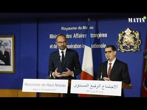Réunion de haut niveau Maroc-France : Signature à Rabat de plusieurs accords de coopération bilatérale