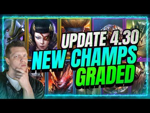🆕 ALL NEW CHAMPS GRADED! | ⚡ CRAZY New Shadow Leggo? RAID Shadow Legends