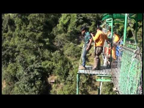 Bungee Jump in The Last Resort, Nepal