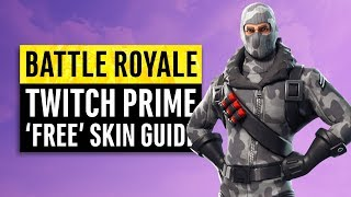 Battle Royale | Twitch Prime Skins Step by Step Guide
