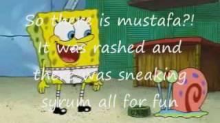 Spongebob reversed with subtitles