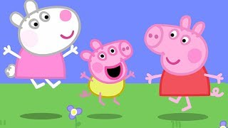 Peppa Pig English Episodes | Baby Alexander plays with Peppa! #PeppaPig width=