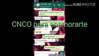 Broma a mi amiga con Letra De La Cancion Para enamorarte (CNCO)