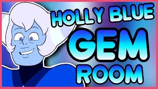 Holly Blue Agate's Gem Room - Steven Universe Speedpaint