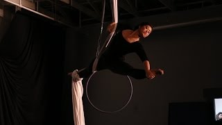 Lucie Xiang - Aerial Silks - Story of My Life