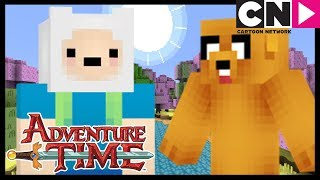 Adventure Time | Minecraft Intro | Cartoon Network