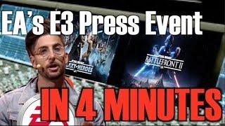 EA's E3 Press Event In 4 Minutes (Parody)